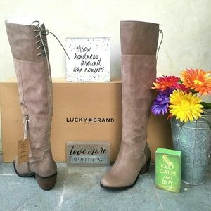 Western Inspired Lucky Brand OTK Boots